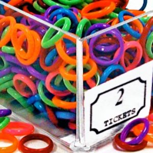 Neon Jelly Rings