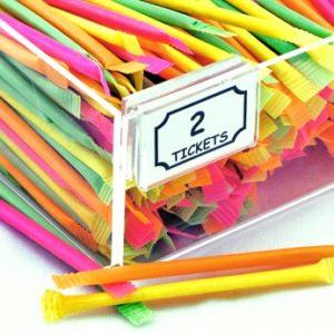 Neon Laser Straws