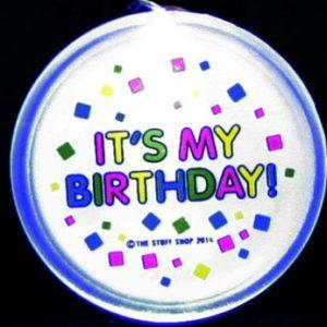 Flash It's My Birthday Necklace