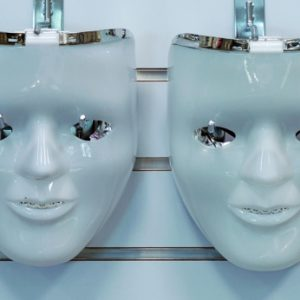 Flashing Double Face Mask